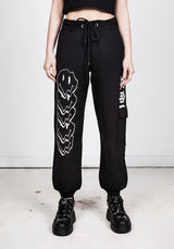 Melting Face Cargo Joggers