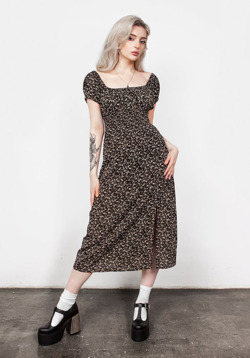 Milkweed Midi Dress