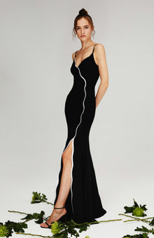Nile Black Gown