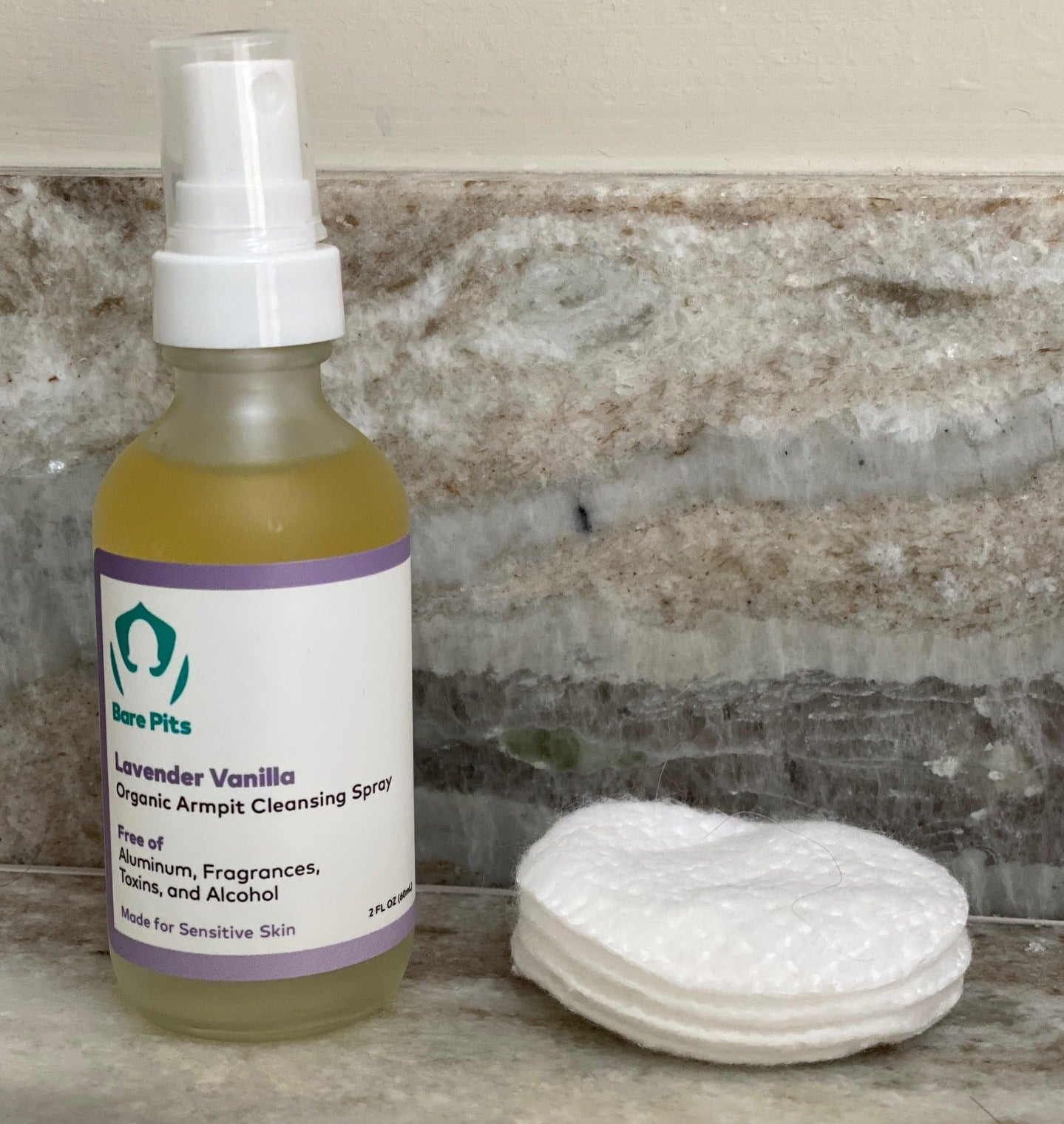 Bare Pits Organic Armpit Cleansing Spray