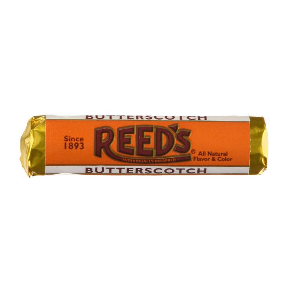 Reeds Butterscotch Candy Roll: 1oz 24ct