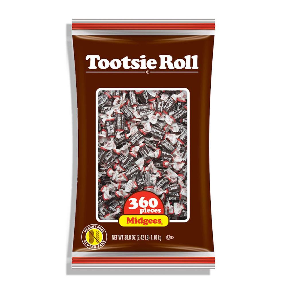 Tootsie Midgees Original: 38.8oz, 360ct