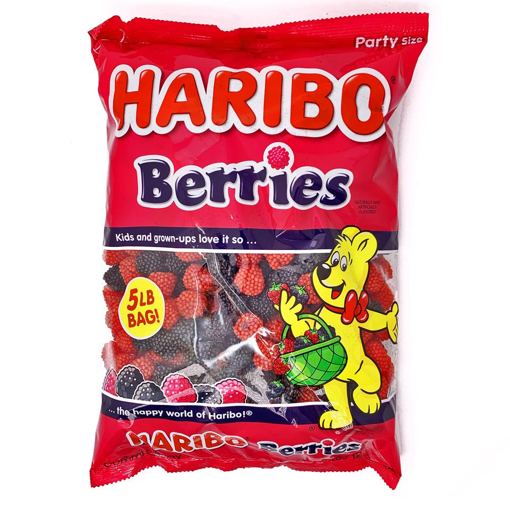 Haribo Berries Gummi Candy: 5lb