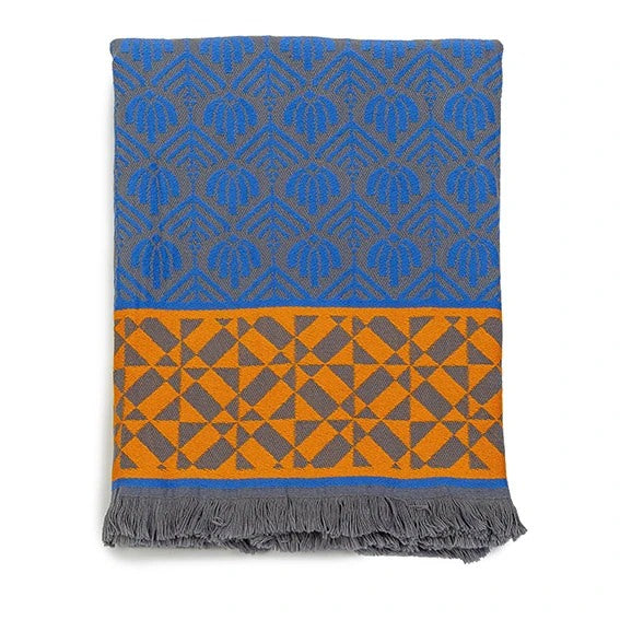 Throw Chichen - Itza Blue