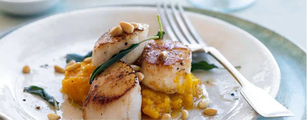 Butternut Scallops