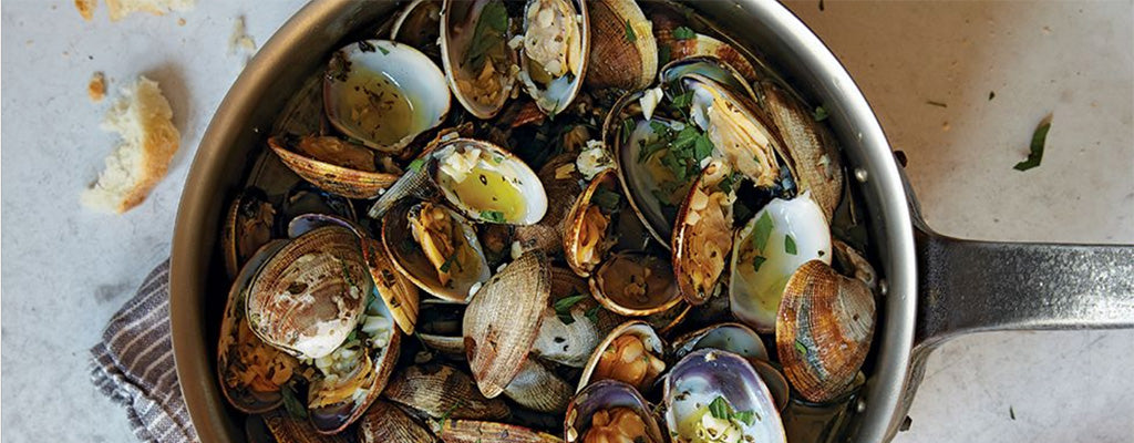 Garlic Steamed Clams