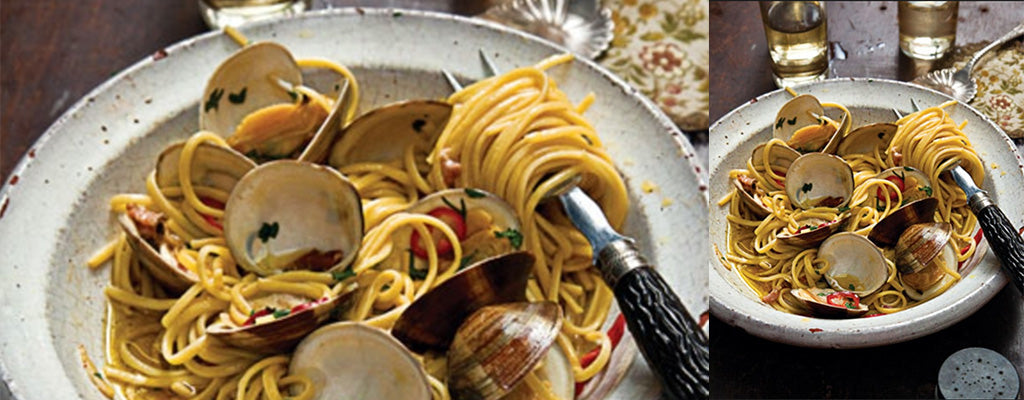 Linguine with Clams and Chilli
