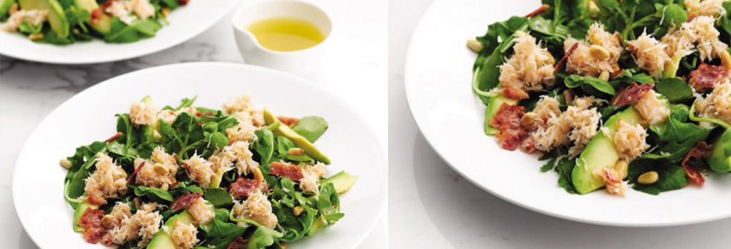 Crab, Bacon & Avocado Salad