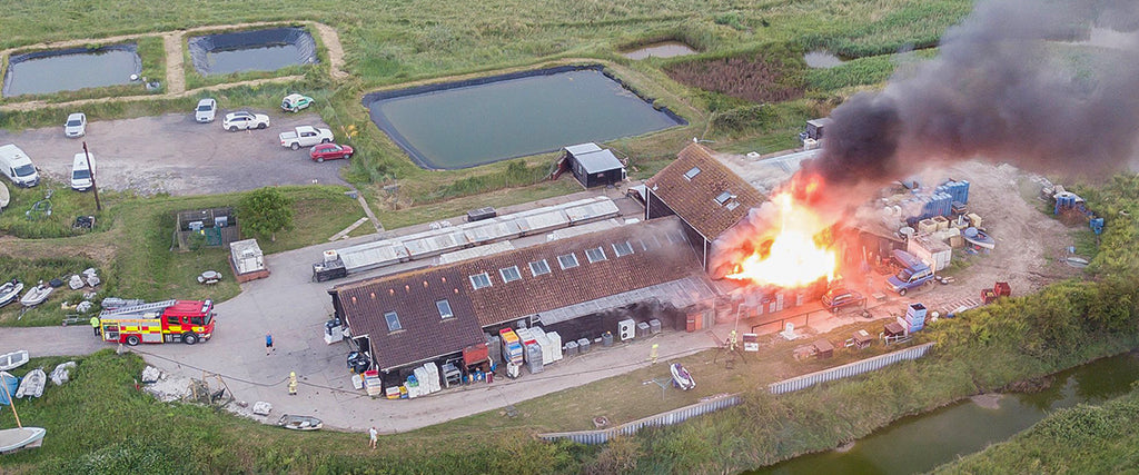 Fire at the Fishery