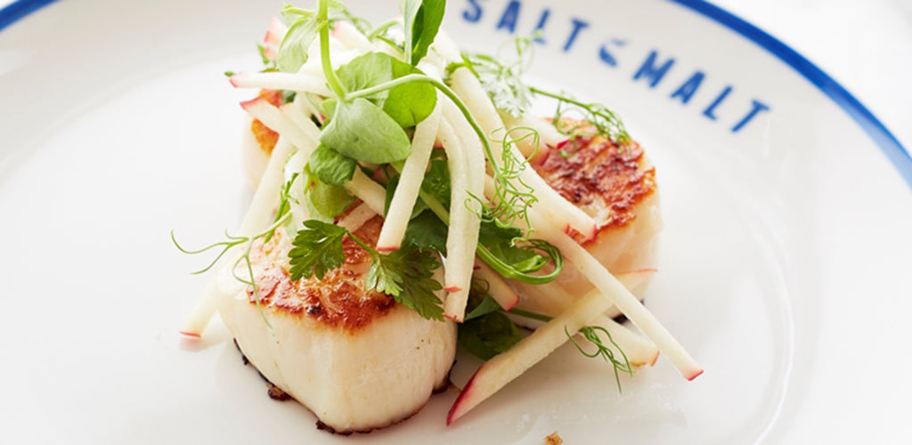 Scallops & Apple Salad