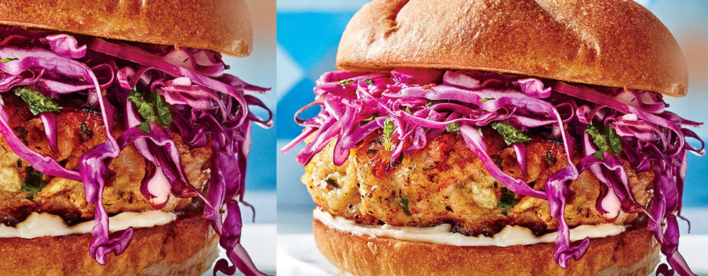Lobster | Crab | Prawn Burger - You decide