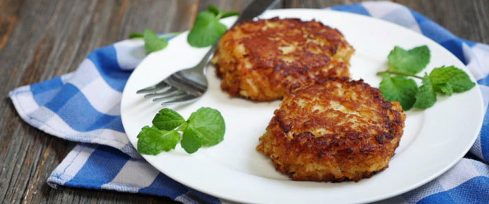crab cakes and patties