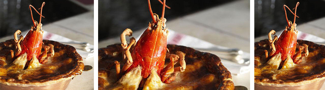 lobster and chicken pie
