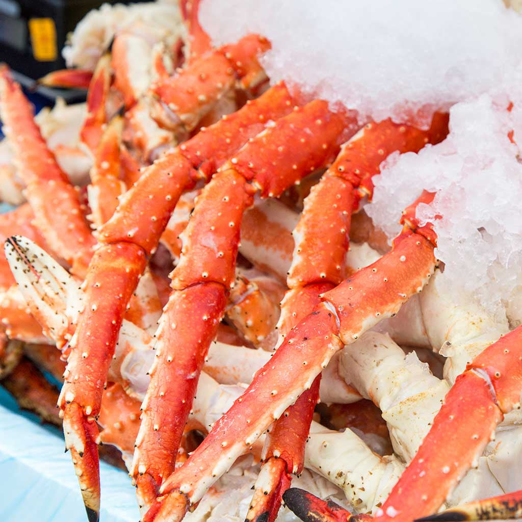 Arctic King Crab Clusters