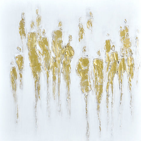 Figures in Gold Painting