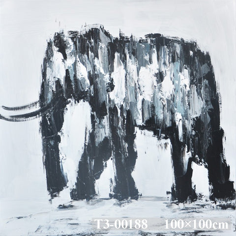 Elephant Sketch painting