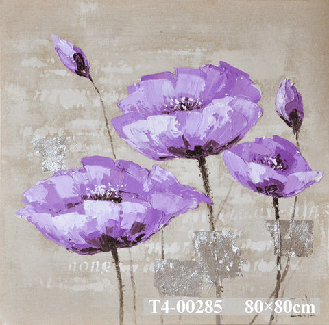 Purple Scent Painting