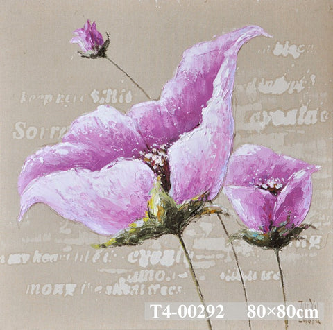 Purple Blossom Painting