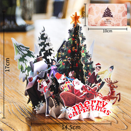 Wheres Wally christmas puzzle card - different view