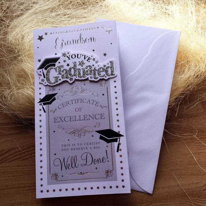 You've Graduated Card - front card and envelope
