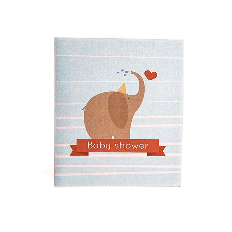 baby shower - it's a boy - front cover