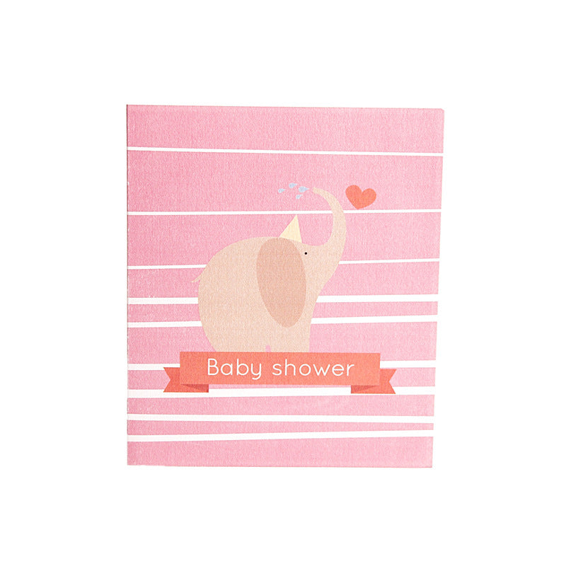 baby shower - it's a girl - front cover