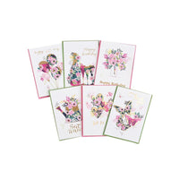 Set of 6 Luxury Greeting Cards