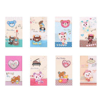 Best Wishes Greeting Cards - Teddy Bear Series - Q&T 3D Cards and Envelopes