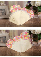 Big Flower Bouquet-Shaped Card - Q&T 3D Cards and Envelopes