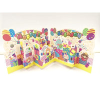 Birthday Party Pop Up Card - Q&T 3D Cards and Envelopes