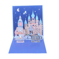 City Skyline Pop Up Card - Q&T 3D Cards and Envelopes
