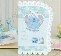 New Baby Cards - Classic Series - Q&T 3D Cards and Envelopes