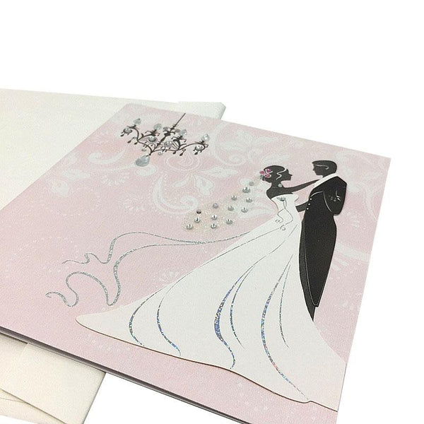 Wedding Card - Congratulations - Q&T 3D Cards and Envelopes