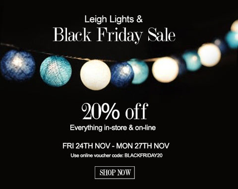 Leigh Lights Festival | Black Friday Shoe Sale