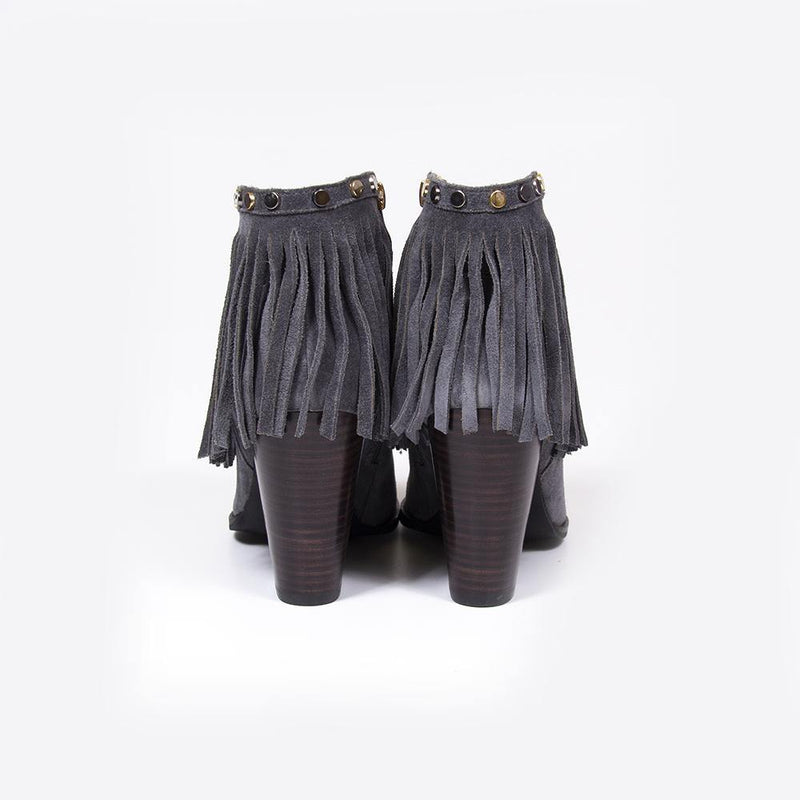 Nicole Fringe Boot | Vanessa London