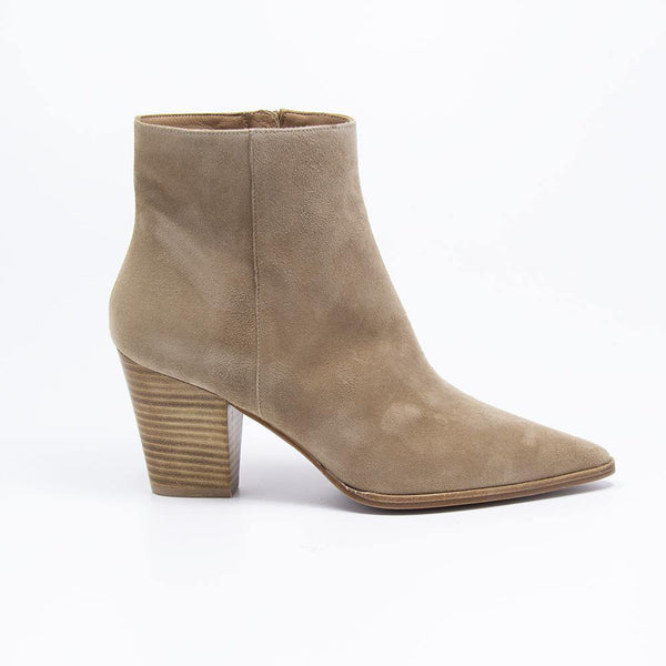 Cameron Taupe Suede Western Boot