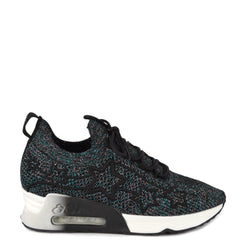 LUNATIC STAR Multi-Coloured Knit Trainers - Heels Boutique