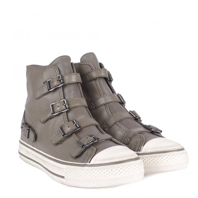 VIRGIN Perkish Hi-Top Buckle  Sneaker - Heels Boutique
