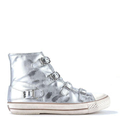 VIRGIN Metallic silver Sneaker | ASH