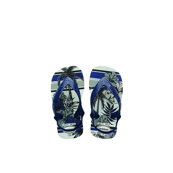 Baby Chic Navy Flip Flop - Vanessa London
