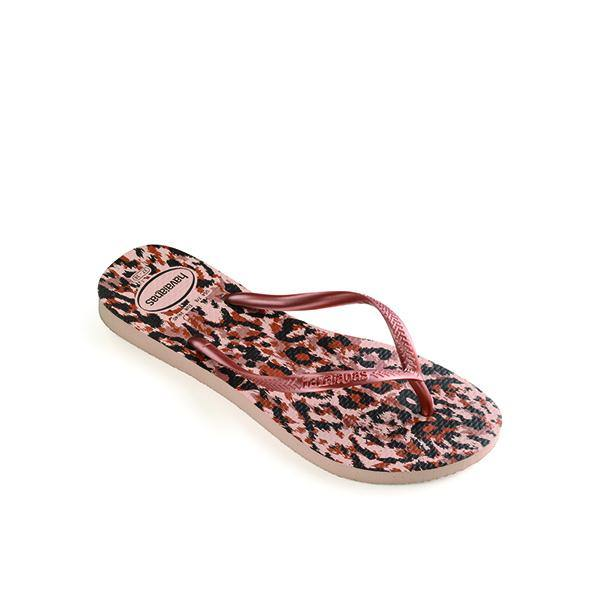 Havaianas Slim Animal Rose Gold Flip Flop