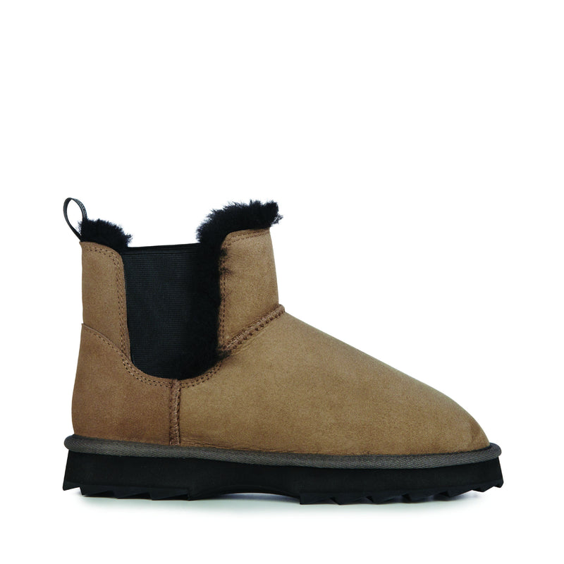 Thresher Sheepskin Coriander Ankle Boot