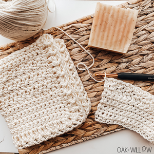 Free Crochet Dishcloth Pattern | Lotus Dishcloth Pattern