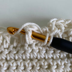 how to front post double crochet