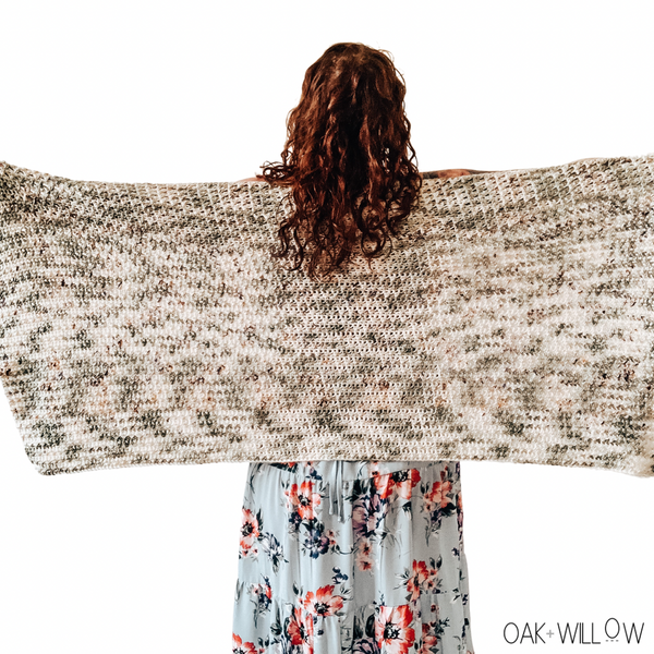 Fern Wrap Crochet Pattern