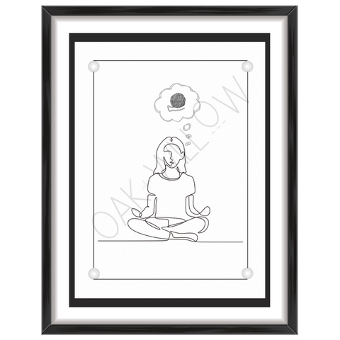 Meditation Art Print (Digital Download)