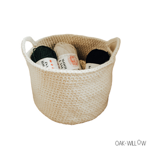 Birch Basket Crochet Pattern