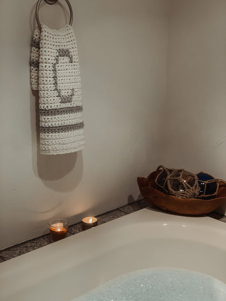 Homebody Bath Towel Crochet Pattern