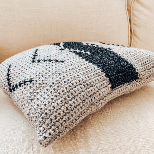 Always Forward Pillow Crochet Pattern