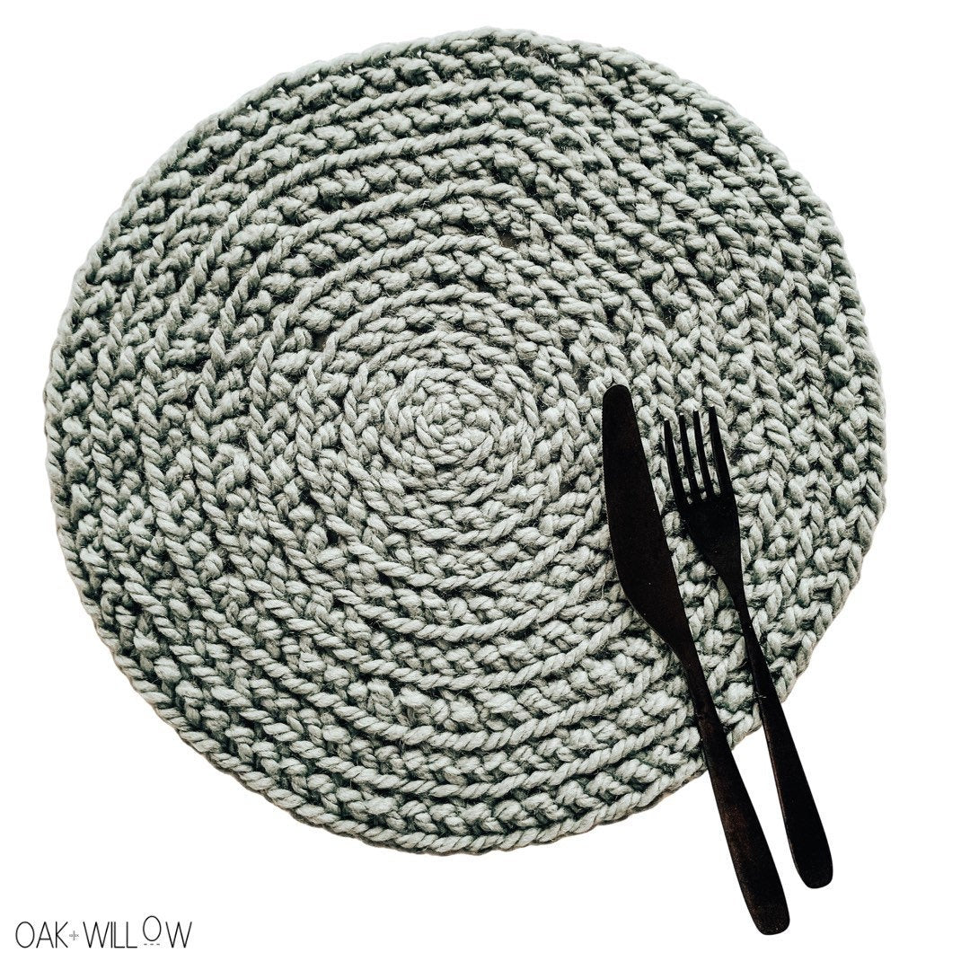 Woodhaven Placemat Crochet Pattern